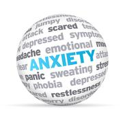Stock Illustration of anxiety