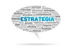 Estrategia Stock Illustration