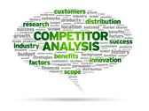 Competitor analysis Stock Illustration