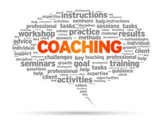 Coaching Stock Illustration