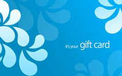 it's your gift card - stock illustration