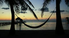 Beach Sunrise Stock Footage