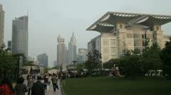 Stunning Shanghai architecture Stock Footage