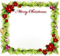 Chirstmas background with beautiful concept Stock Illustration