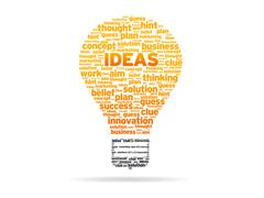 Words - ideas Stock Illustration