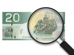 20 Kanadan dollaria Piirros