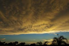 Ominous Clouds 004 - stock photo