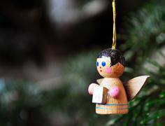 little angel - stock photo