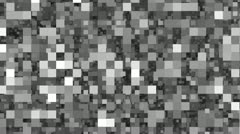 Bits and Pixels Grey Stock Footage