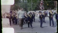 CUB SCOUTS 4th of July American US Flag Parade 1960 Vintage Film Home Movie 3168 Stock Footage