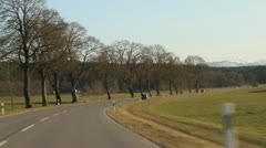 Romantic Road in Germany Stock Footage