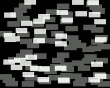 layer mask for computer animated imagery of multiplying cash against a black - stock footage