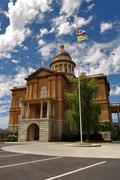 auburn courthouse - stock photo