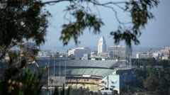 Dodgers Stadium 06 HD Stock Footage