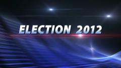 SPECIAL REPORT | ELECTION 2012 News Bumper Stock Footage