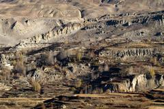 annapurna landscape - stock photo