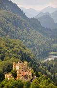 Stock Photo of hohenschwangau castle