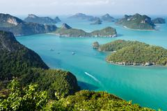Ko angthong marine park Stock Photos