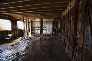 Stock Photo of Home water mud basement flood damage 1922.jpg