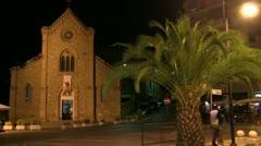 Italy - Vasto Marina - Church Stock Footage
