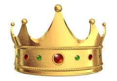 golden crown - stock illustration