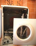 Washing machine repairing Stock Photos