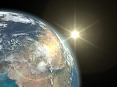 Earth - stock illustration