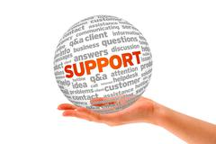 Stock Illustration of support