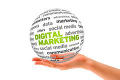 Stock Illustration of digital marketing