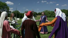 Round dance II Stock Footage