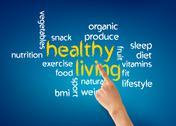 Healthy living Stock Illustration
