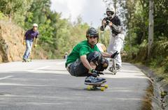 jorge pernes during the 1st gp de desportos de gravidade - stock photo