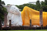Big reclining buddha Stock Photos