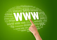 World wide web Stock Illustration