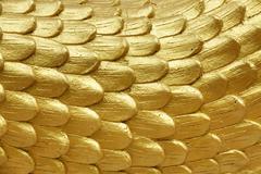 Religious golden scales Stock Photos