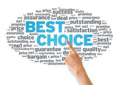 Best choice Stock Illustration