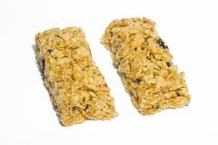 Muesli (cereal) bars Stock Photos