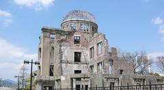 Atomic kupoli Hiroshimassa Kuvituskuvat