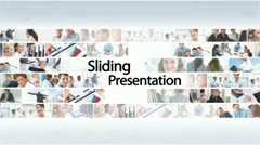 Sliding Presentation - After Effects Template Stock After Effects