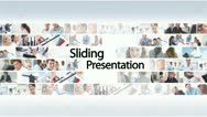 Stock After Effects of Sliding Presentation