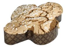 easter colomba cut out - stock photo