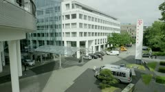 Telekom Headquarter Bonn Stock Footage