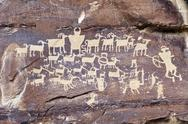 Stock Photo of Indian Rock Art