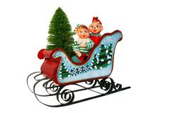 Christmas Elves Stock Photos