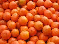 Mound of Oranges Stock Photos