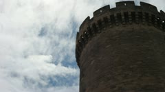 Medieval Tower 02 Stock Footage