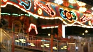 Stock Video Footage of Stock Footage - Iowa State Fair - HD1080p - Ambient shot of lights on ride