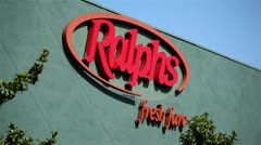 Ralph's Sign 02 HD Stock Footage