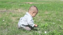 Small kid - stock footage