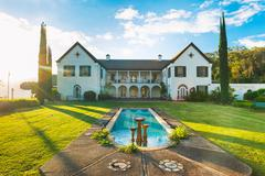 luxury estate - stock photo